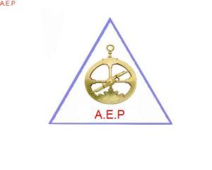 Escudo AEP con triangulo