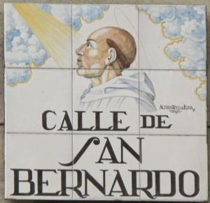 calle san bernardo Cartel