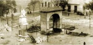 Plaza del Dos de Mayo año 1940