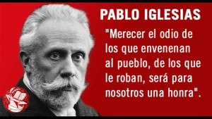 Pablo Iglesias Fundador PSOE
