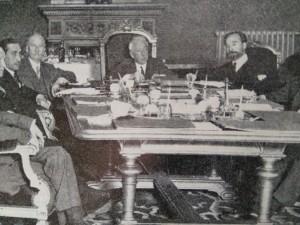 Primer Consejo de Ministros de la II República